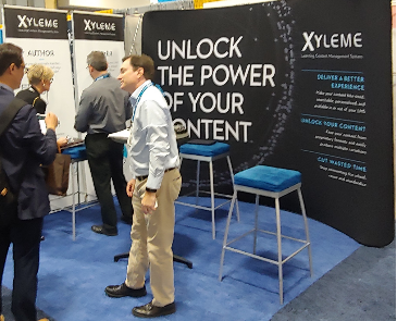 Xyleme tradeshow booth
